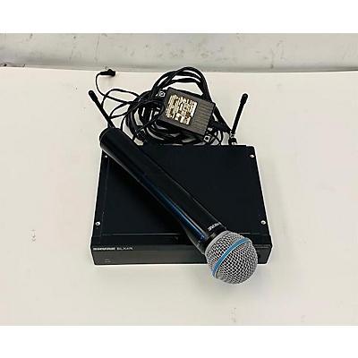 Shure BLX4R BETA58A Handheld Wireless System