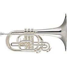 BM-111 Marching Series F Mellophone Silver plated
