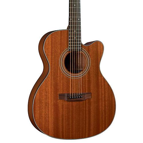 Bristol BM-15CE OOO Acoustic-Electric Guitar Natural