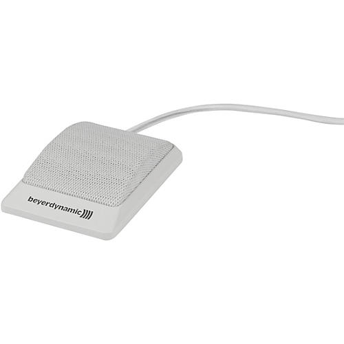 Beyerdynamic BM 42 Tabletop Boundary Mic in White with Free-Ended Cable (half cardioid)