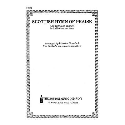 Music Sales BMC- Scottish Hymn Of Praise SATB