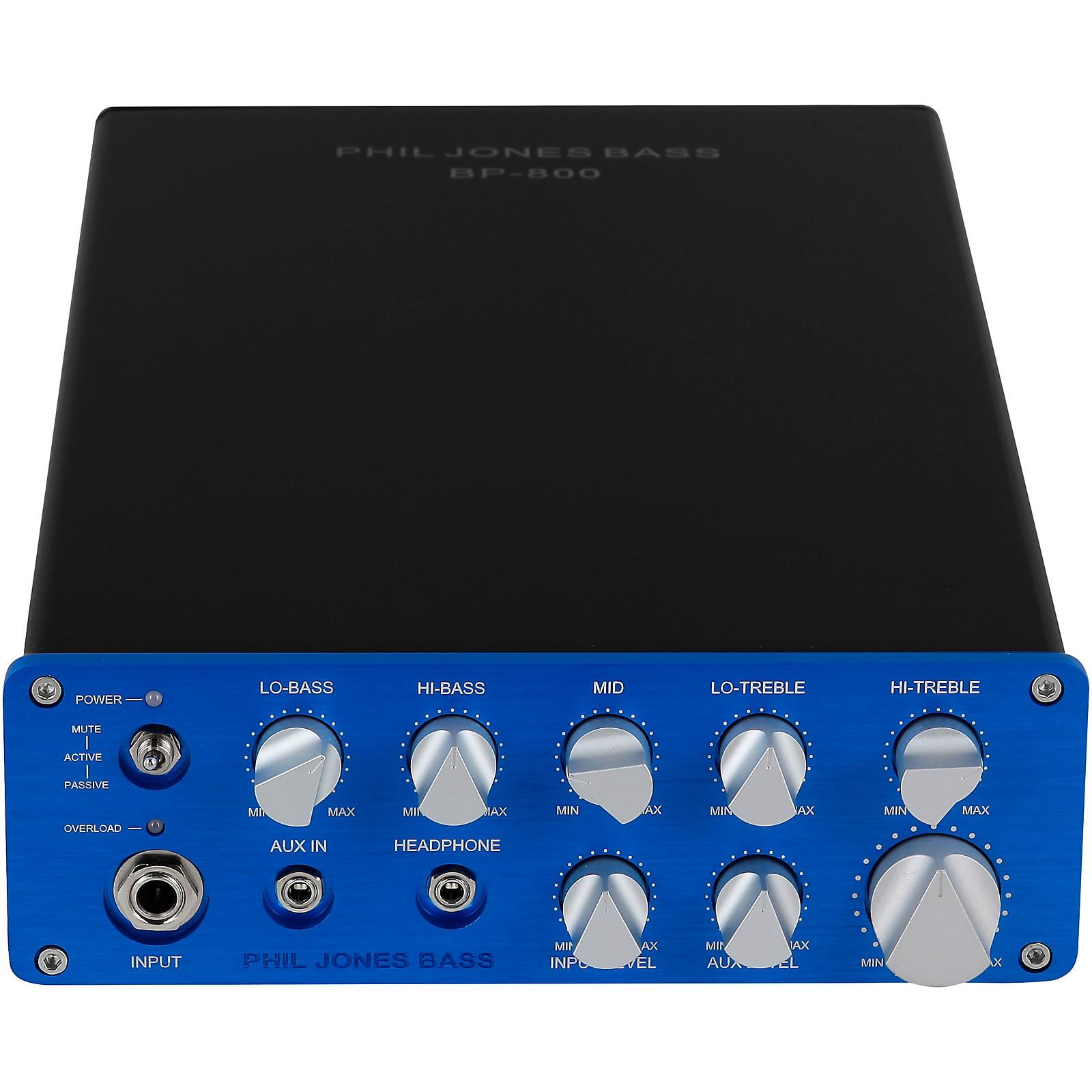 Phil Jones Bass BP-800 800W Bass Amp Head