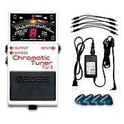 BP-PS Pedal Power Solution Bundle With TU-3 Chromatic Tuner, PSB-120 AC Adapter, PCS-20A Daisy Chain and 12 Picks