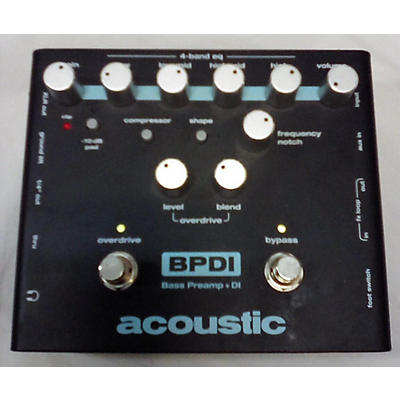 Acoustic BPDI Bass Effect Pedal