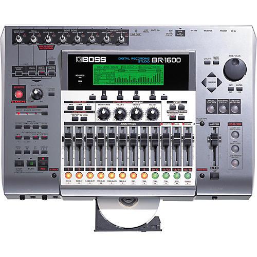 boss br 1600cd multitrack digital recorder musician 39 s friend. Black Bedroom Furniture Sets. Home Design Ideas