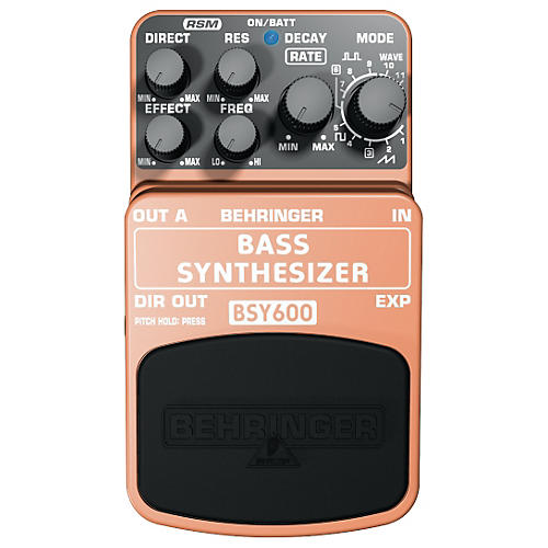 behringer bsy600 bass synthesizer effects pedal musician 39 s friend. Black Bedroom Furniture Sets. Home Design Ideas