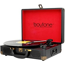BT-101 Turntable Briefcase Black