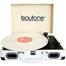 BT-101 Turntable Briefcase White
