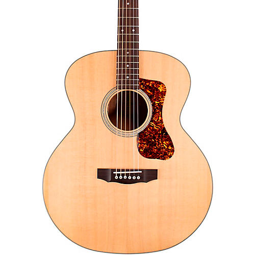 Guild BT-240E Westerly Collection Baritone Jumbo Acoustic-Electric Guitar Natural