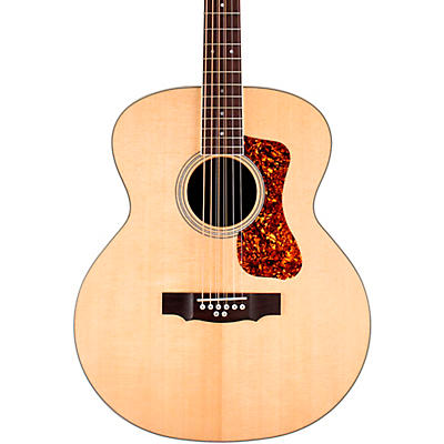 Guild BT-258E Deluxe Westerly Collection 8-String Baritone Jumbo Acoustic-Electric Guitar