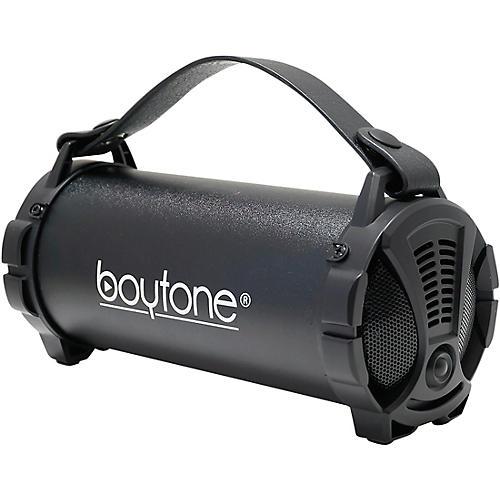 Boytone BT-38 Portable Bluetooth Hi-Fi Cylinder Speaker Black