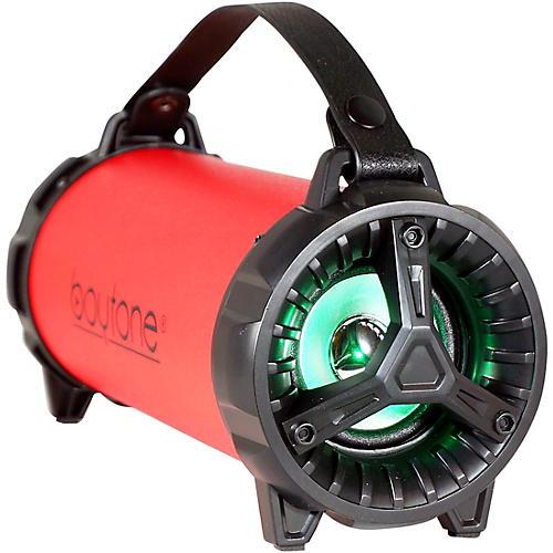 Boytone BT-40 Portable Bluetooth Hi-Fi Cylinder Speaker Red