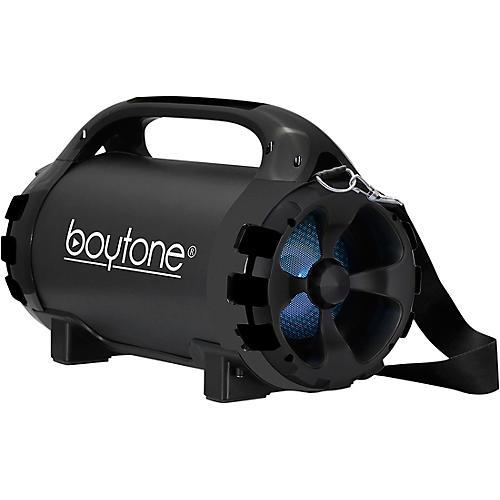 Boytone BT-46 Portable Bluetooth Hi-Fi Cylinder Speaker Black