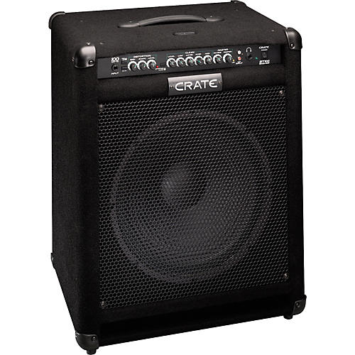 crate bt100 bass combo amp musician 39 s friend. Black Bedroom Furniture Sets. Home Design Ideas