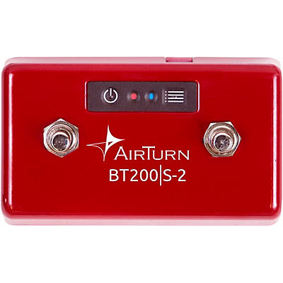 AirTurn BT200S-2 Bluetooth 2 Foot Switch Controller
