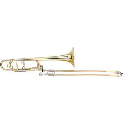 Blessing BTB-1488 Performance Series Bb/F Large Bore Rotor Trombone Outfit With Open Wrap