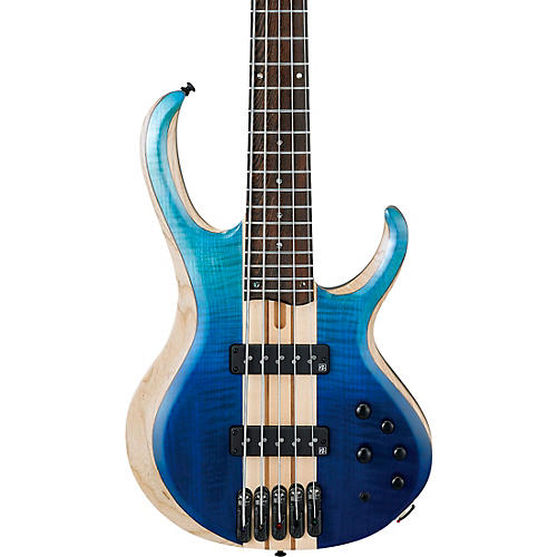 Ibanez BTB 20th Anniversary 5-String Electric Bass Blue Reef Gradation Low Gloss
