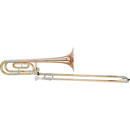 Blessing BTB1488 Performance Series Bb/F Large Bore Rotor Trombone Outfit with Closed Wrap