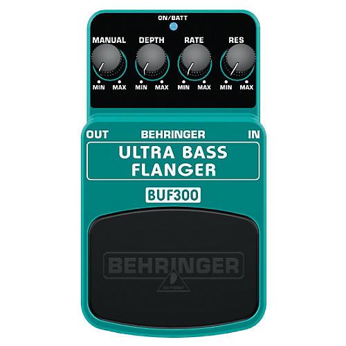 Behringer BUF300 Ultra Bass Flanger Effects Pedal
