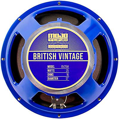 "Mojotone BV-25M 25W 12"" British Vintage Series Guitar Speaker 16 OHM"