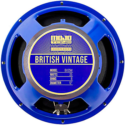 "Mojotone BV-25M 25W 12"" British Vintage Series Guitar Speaker 8 OHM"