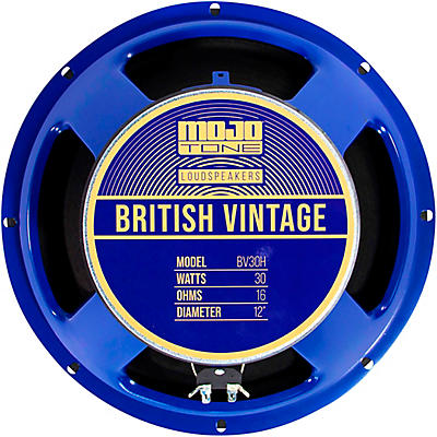 "Mojotone BV-30H 12"" British Vintage Series 16 Ohm"