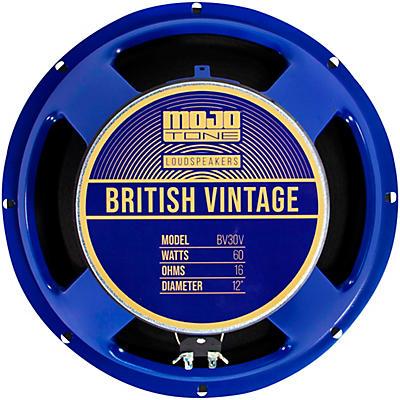 "Mojotone BV-30V 60W 12"" British Vintage Series Guitar Speaker 16 OHM"
