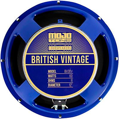 "Mojotone BV-30V 60W 12"" British Vintage Series Guitar Speaker 8 OHM"