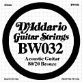 D'Addario BW032 80/20 Bronze Guitar Strings thumbnail