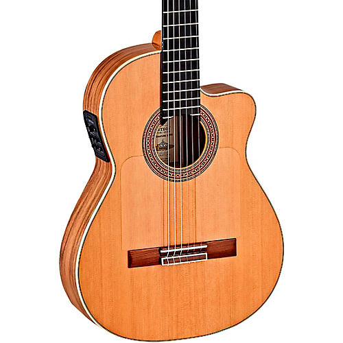 Ortega BWSM/2 Ben Woods Signature Flamenco Acoustic-Electric Guitar Natural