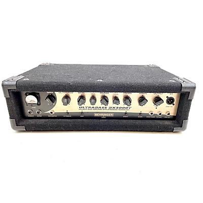 Behringer BX3000T Ultrabass 300W Bass Amp Head