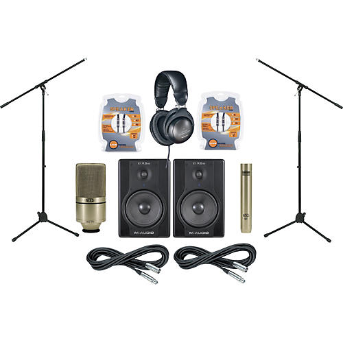 m audio bx5a monitor and mic package musician 39 s friend. Black Bedroom Furniture Sets. Home Design Ideas