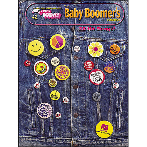 Hal Leonard Baby Boomers Songbook E-Z Play 42
