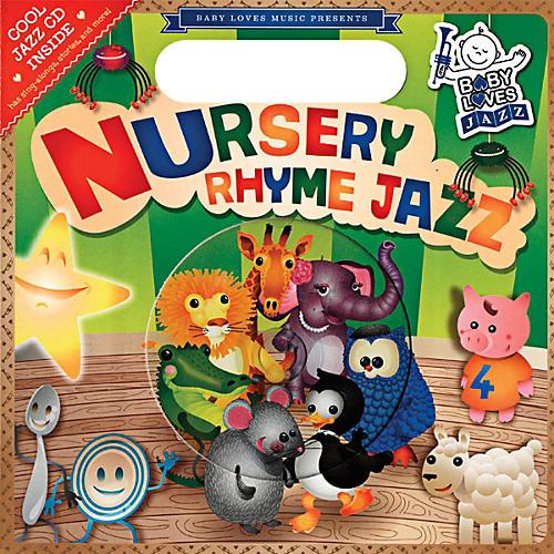 Penguin Books Baby Loves Jazz Nursery Rhyme Jazz Book & CD