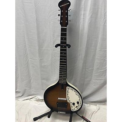Danelectro Baby Sitar Harp Guitars