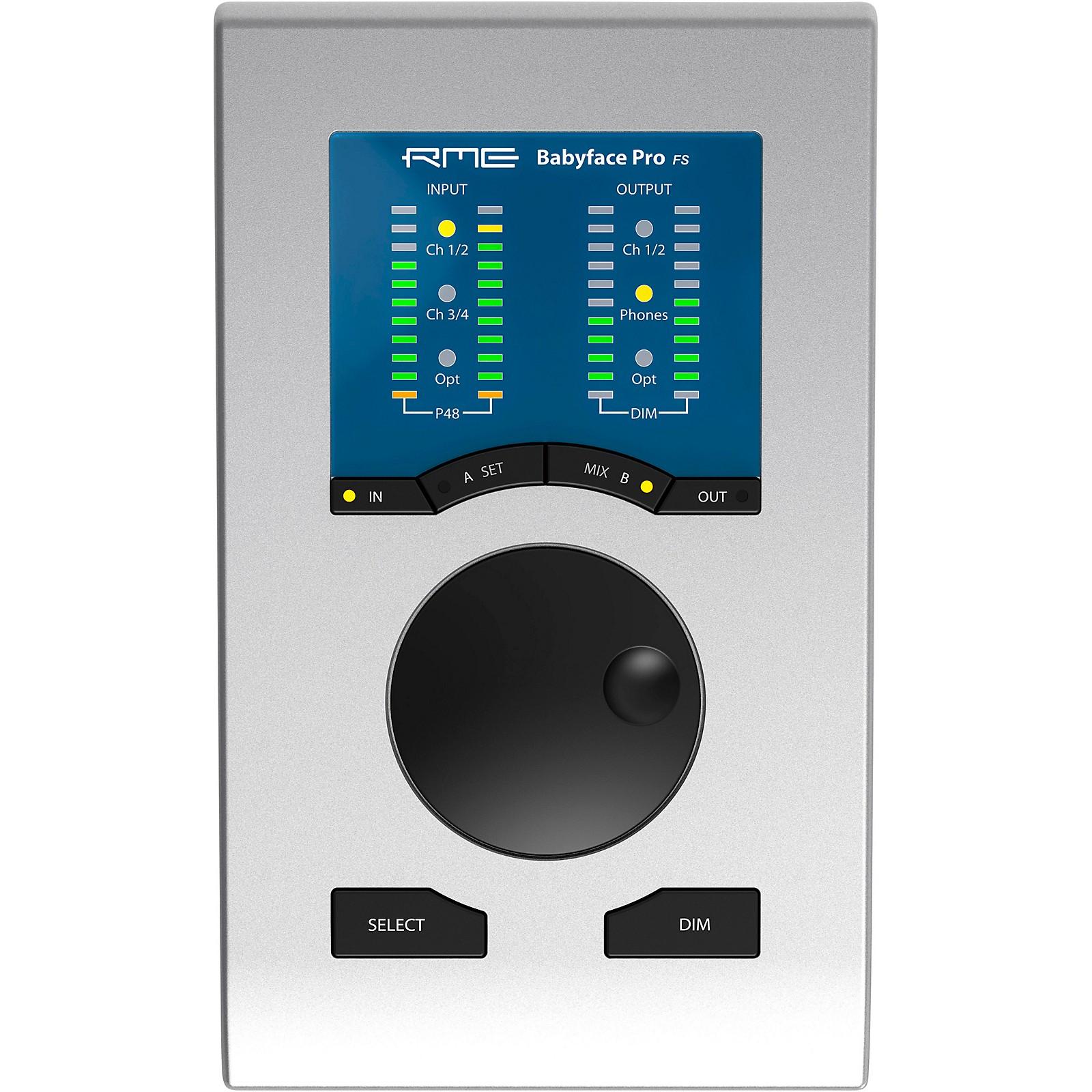 RME Babyface Pro FS Audio Interface