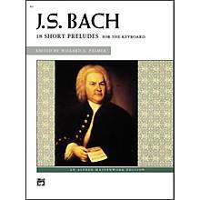 Alfred Bach 18 Short Preludes Intermediate/Late Intermediate Piano