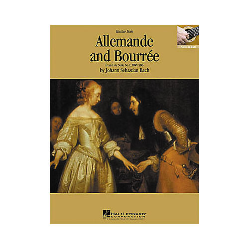 Hal Leonard Bach: Allemande and Bourre Guitar Sheet Music Book