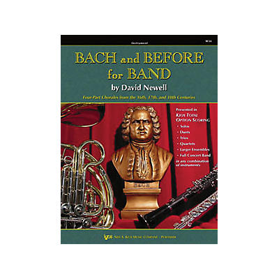KJOS Bach And Before for Band Trumpet