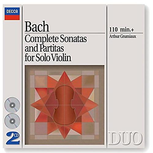 Alliance Bach: Complete Sonatas & Partitas For Solo Violin
