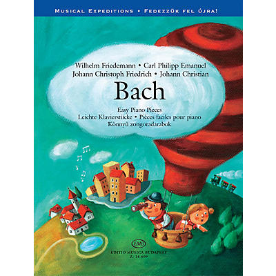Editio Musica Budapest Bach Easy Piano Pieces - Musical Expeditions Series EMB Series Softcover