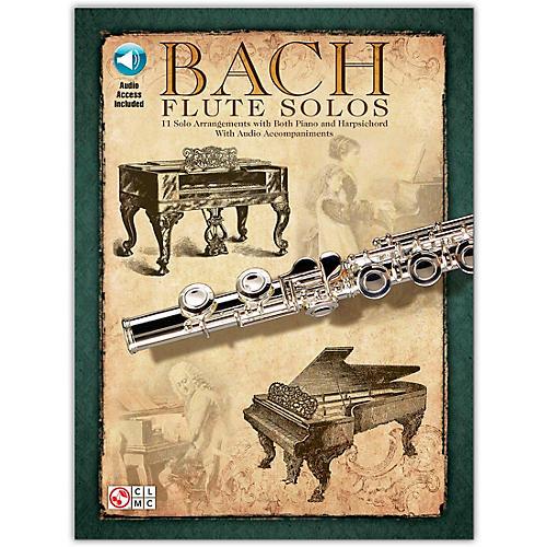 Hal Leonard Bach Flute Solos Book/Online Audio