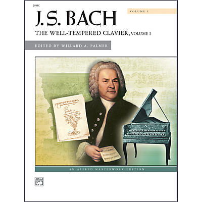 Alfred Bach The Well-Tempered Clavier Volume I Piano