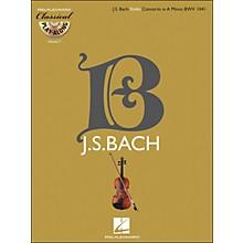 Hal Leonard Bach: Violin Concerto In A Minor, Bwv 1041 Classical Play-Along Book/CD Vol. 7