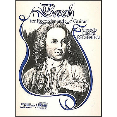 Hal Leonard Bach for Recorder And Guitar (for Soprano Or Tenor Recorder)