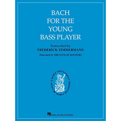Hal Leonard Bach for The Young Bass Player By Bach