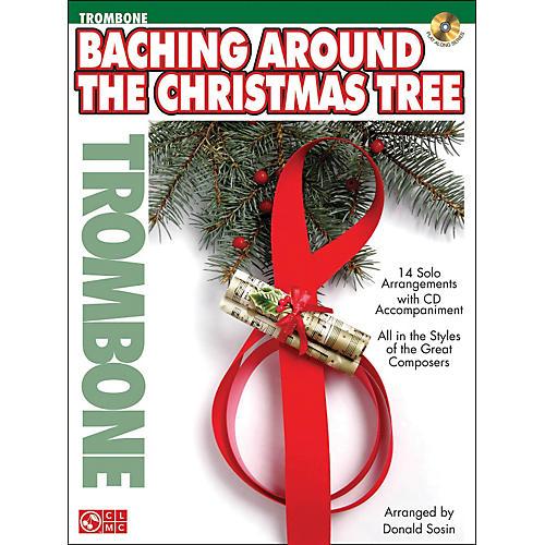 Cherry Lane Baching Around The Christmas Tree (Trombone) Book/CD