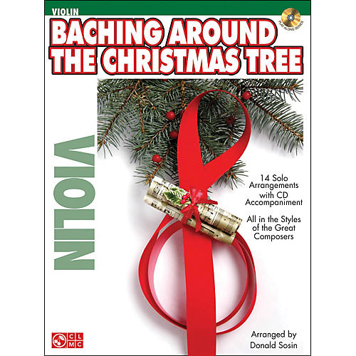 Cherry Lane Baching Around The Christmas Tree (Violin) Book/CD