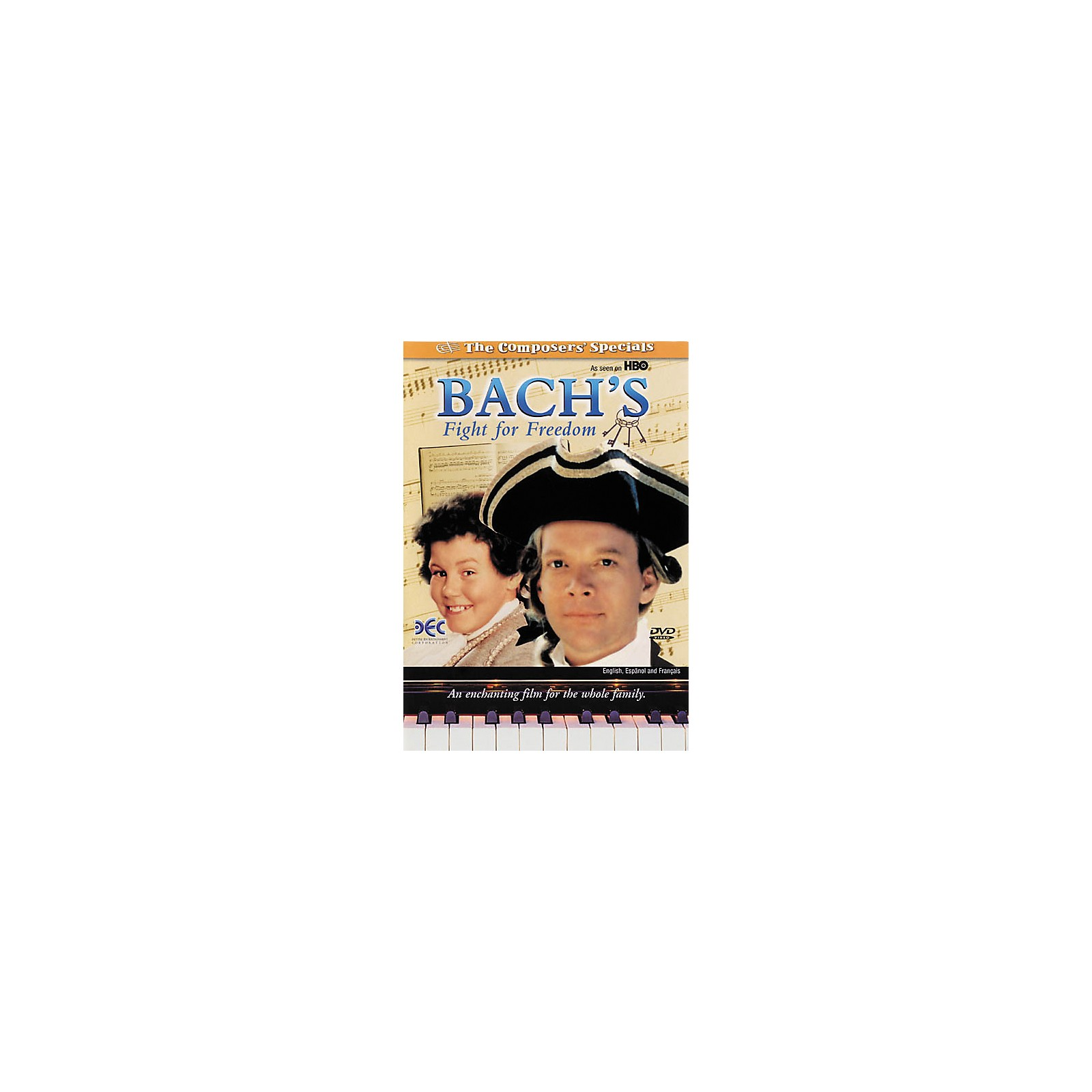 Devine Entertainment Bach's Fight for Freedom (DVD)