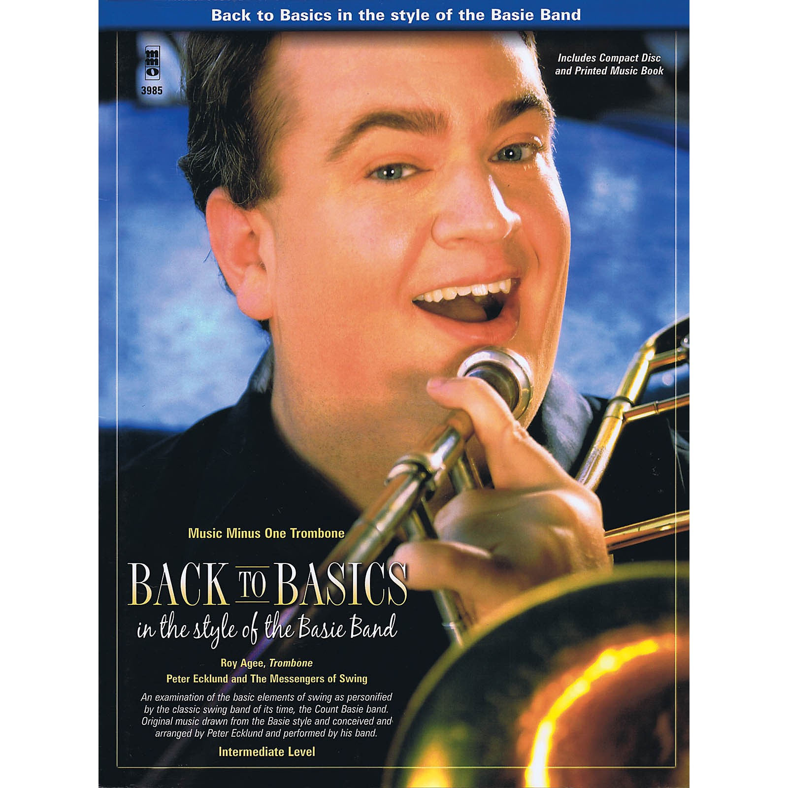 Music Minus One Back to Basics in the Style of the Basie Band Music Minus One Series Softcover with CD